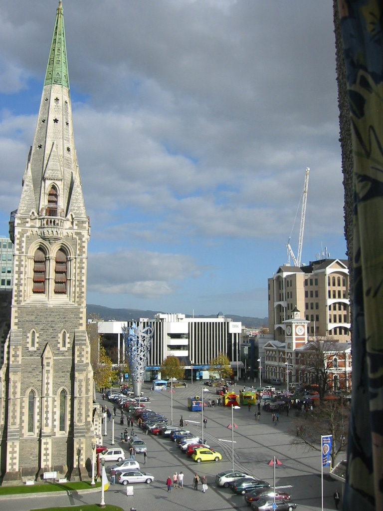 Downtown Christchurch